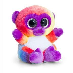 Λούτρινο Animotsu Rainbow Monkey Cosmos 15cm