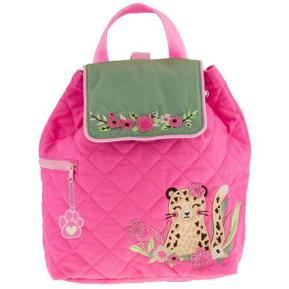 Stephen Joseph Quilted Backpack Leopard SJ100177A