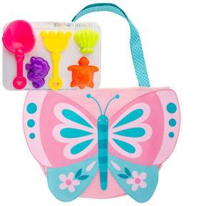 Stephen Joseph Παιδική τσάντα παραλίας με παιχνίδια Butterfly SJ100325B