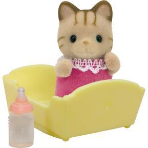 Sylvanian Families: Μωρό Οικογένειας Strip Cat (5186)