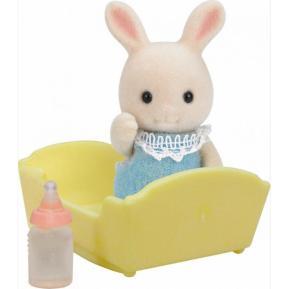 Sylvanian Families: Μωρό Κουνελάκι Milk Rabbit (5063)