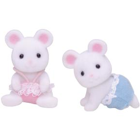 Sylvanian Families: White Mouse Δίδυμα Ποντικάκια (5077)