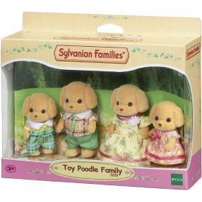 Sylvanian Families: Οικογένεια Toy Poodle (5259)