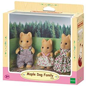 Sylvanian Families: Οικογένεια Maple Dog (5132)