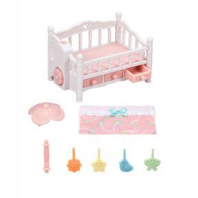 Sylvanian Families Crib with Mobile 5534