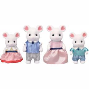 Sylvanian Families Marshmallow Mouse Family 5308