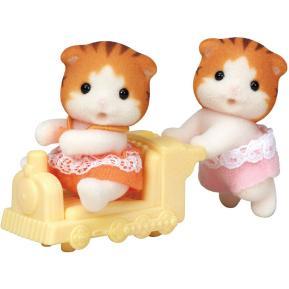 Sylvanian Families Maple Cat Twins 5423