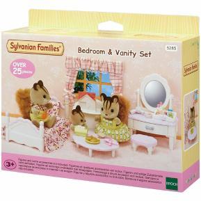 Sylvanian Families Bedroom & Vanity Set 5285