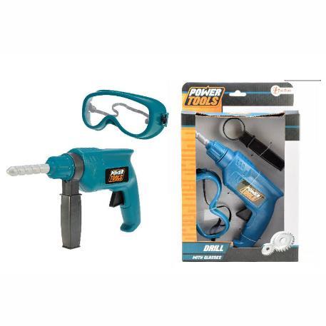 Σετ τρυπάνι με προστατευτικά γυαλιά (38031A)-0