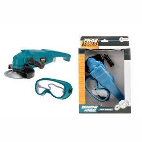 Σετ εργαλείων με σβουράκι και προστατευτικά γυαλιά (38032A)