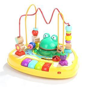 Top Bright Sound Frog Bead Maze (120328)
