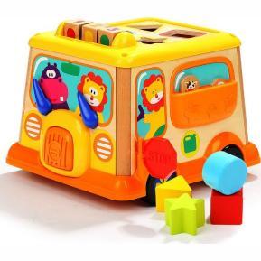 Top Bright My First School Bus Ξύλινο (150185)