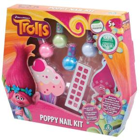 Trolls Poppy Nail Kit