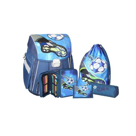d4098a697f Τσάντα Δημοτικού Spirit Παπούτσια Ποδοσφαίρου σετ 5 τμχ TTS405780