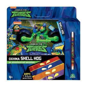 Giochi Preziosi Turtles Rise Of The Teenage Mutant Ninja Shell Hog With Leonardo TU220000