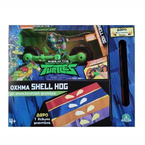 Giochi Preziosi  Turtles Rise Of The Teenage Mutant Ninja Shell Hog With Michelangelo TU220000