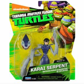 Giochi Preziosi Φιγούρα Turtles Karai Serpent 13cm (TUA82000)
