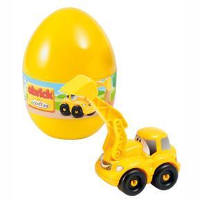Abrick Ecoiffier Αυγό με Όχημα Κίτρινο