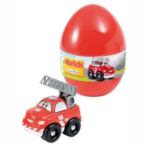 Abrick Ecoiffier Αυγό με Όχημα Κόκκινο
