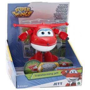 Super Wings Delux Transforming Φιγούρα Jett (UPW01501)