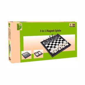 Natural Games Σκάκι Μαγνητικό 3 σε 1
