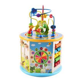 Eva Toys Ξύλινος Κύβος Δραστηριοτήτων W11B153
