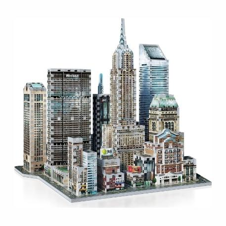 Puzzle 3D Mid Town East New York 875τεμ (WR002011)-0
