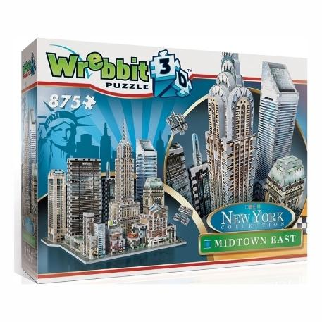 Puzzle 3D Mid Town East New York 875τεμ (WR002011)-1