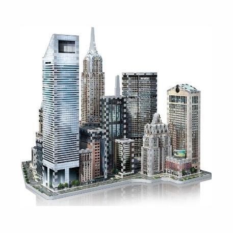 Puzzle 3D Mid Town East New York 875τεμ (WR002011)-2