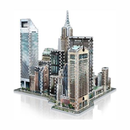 Puzzle 3D Mid Town East New York 875τεμ (WR002011)-3