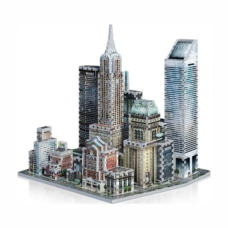 Puzzle 3D Mid Town East New York 875τεμ (WR002011)-4