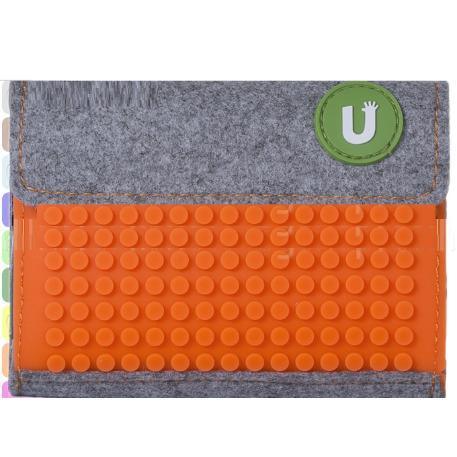 Πορτοφόλι Pixel Πορτοκαλί-0